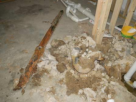 All types of plumbing repairs