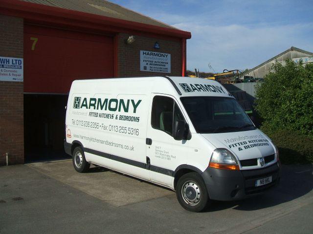Harmony Kitchens and Bedrooms Van