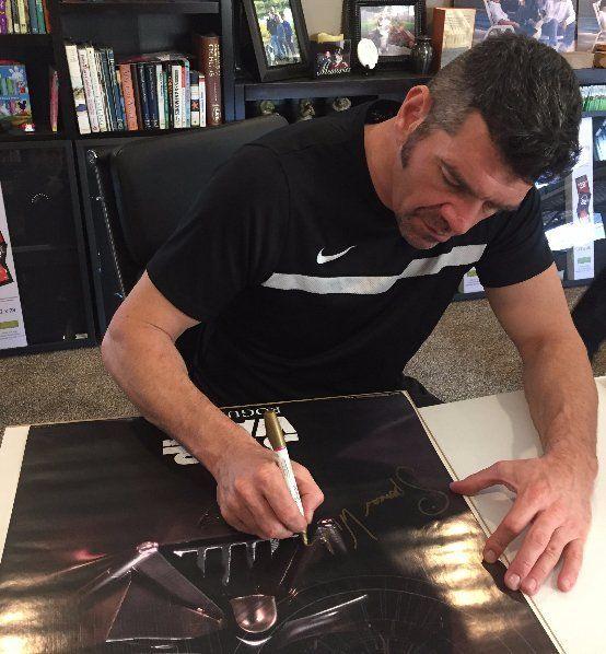Spencer Wilding Signing 24X36 Darth Vader Poster