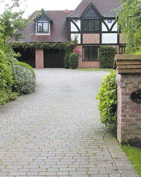 Garden excavations - Knottingley, Yorkshire - Access Paving - Driveway