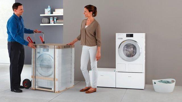 consegna lavatrice nuova