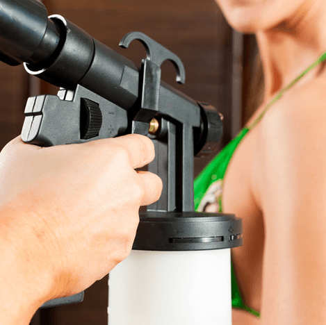 tan spray