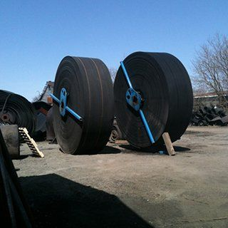 Belt conveyor for sale used