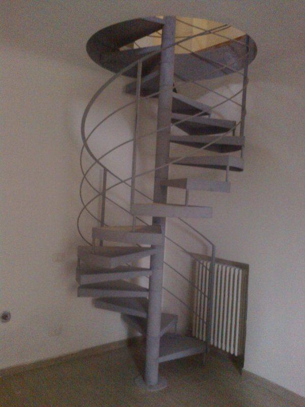delle scale a chiocciola