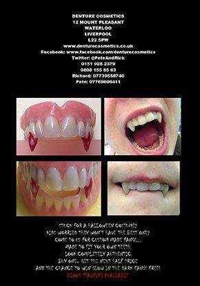 Seasonal Offer - Liverpool, Merseyside - Denture Cosmetics