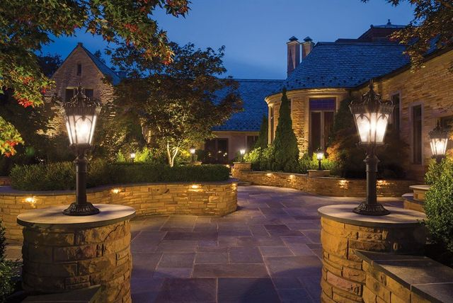 Kichler Landscape Lighting Award Beau Monde Llc