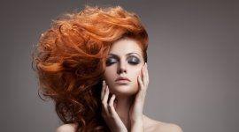 colorazione dei capelli, ombretto