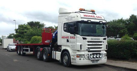 artic hiab lorry