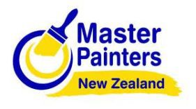 Master Painters logo