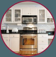 white kitchen cabinates