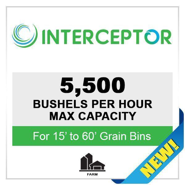 Interceptor Paddle Sweep for Grain Bins