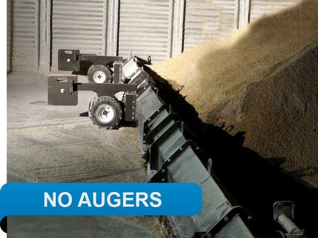Unload with no dangerous augers