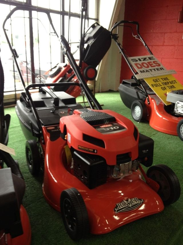 We can service your lawn mower or sell you a new one