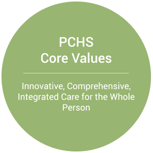 PCHS Core Values: Innovative, Comprehensive, Integrated Care for the Whole Person
