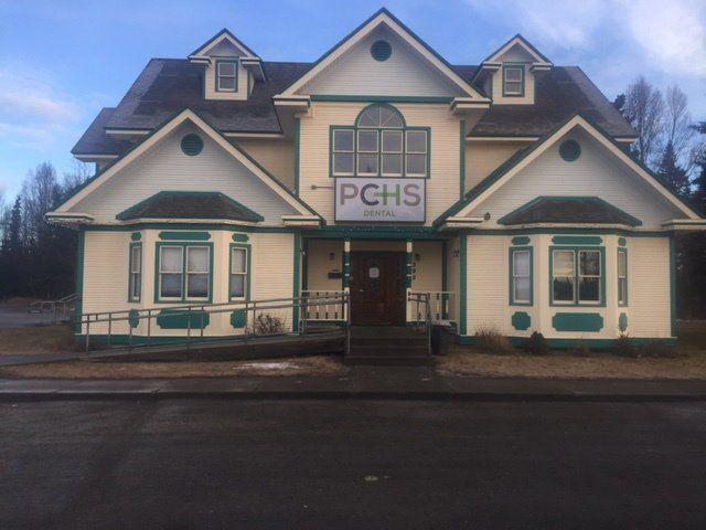The exterior of our dentist office in Kenai Peninsula Borough, Alaska
