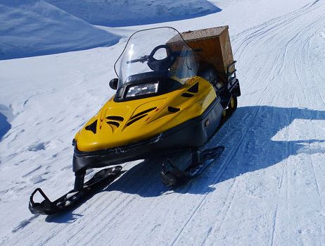 Snowmobile repaired by ATV repair services in Anchorage