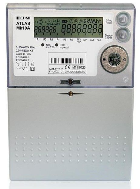 Mk10A Electronic Revenue Meter