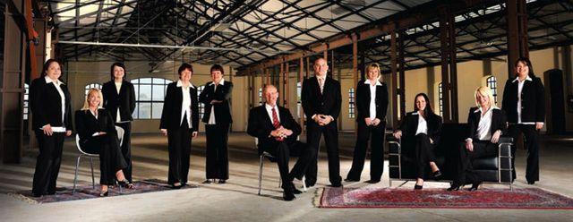 the rental company team