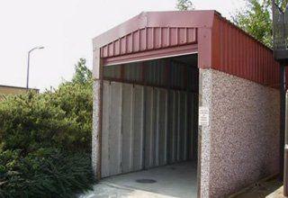Highliner or HiLiner concrete garage