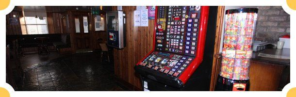 Games machine in our pub