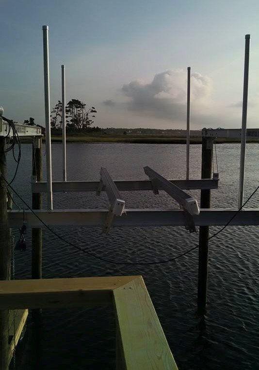 Boat Lift Installation Oak Island, NC