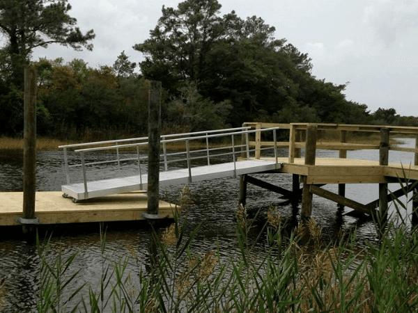 16 Foot Aluminum Walk Board : Aluminum floating docks ramps gangways ocean