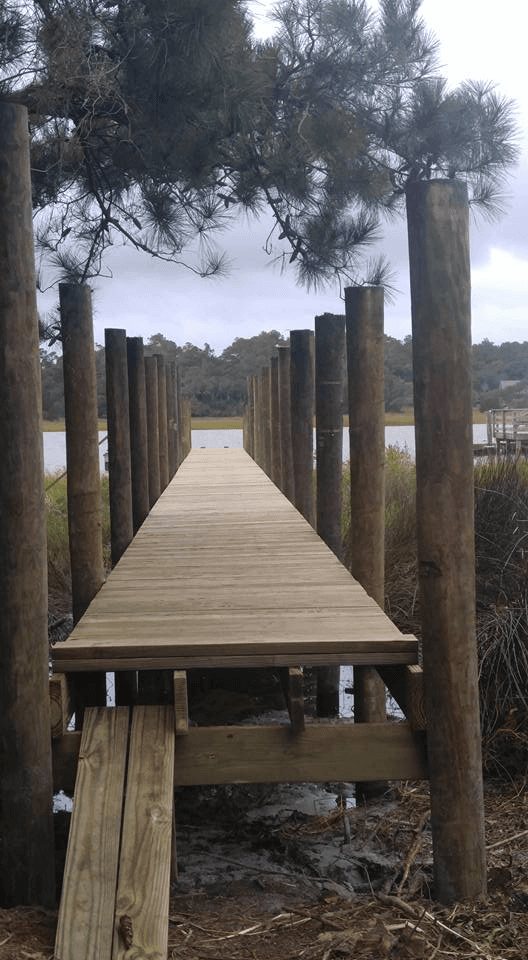 Pier Construction Oak Island, NC