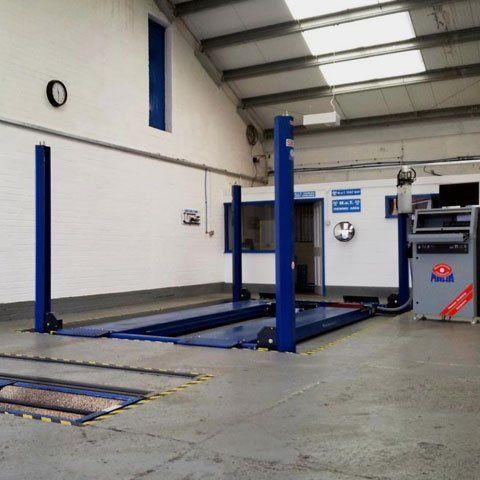 Reliable repair workshop
