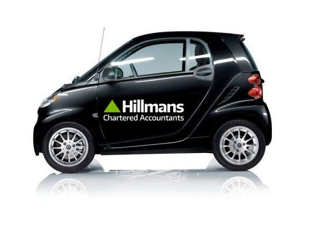 Hillmans Chartered Accountants Branded Car Weston-super-Mare