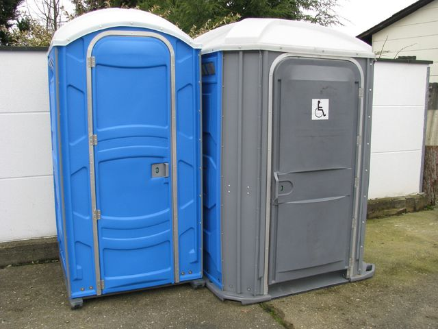 unser WC Kabinen