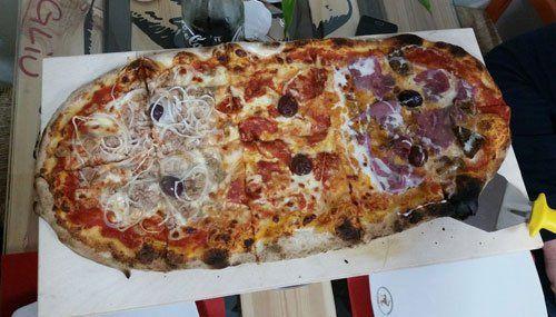 pizza al metro vari gusti