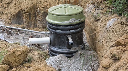 Water line for septic systems in Batavia, NY