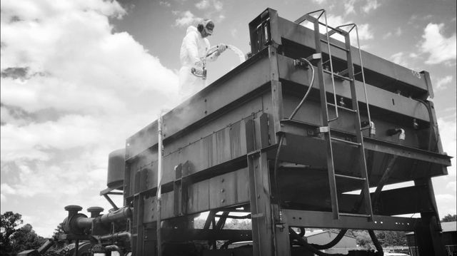 Frac Pump Radiator and Heat Exchanger Cleaning Services
