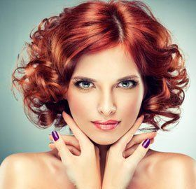 Trendy hairstyling designs