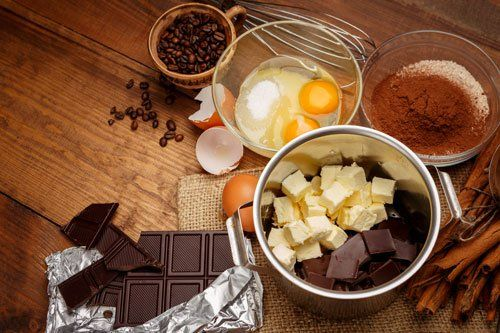 ingredienti torta al cioccolato