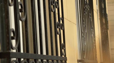 Grate in ferro per le finestre a Pianiga