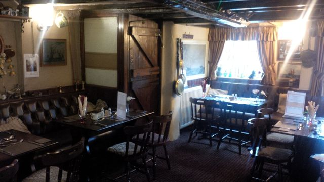 Interior of the public house in The Old Royal George