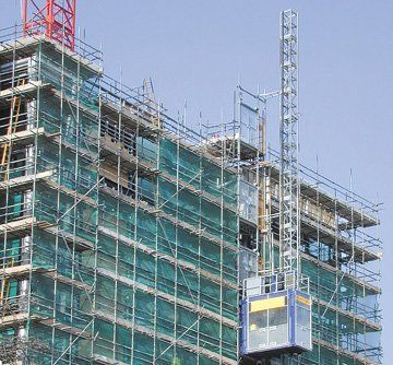 Scaffold servicing - Southport, Merseyside - Lenehan Scaffolding (Preston) Ltd - Scaffold hire