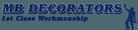 MB Decorators 1st Class Workmanship Company Logo