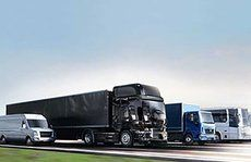 camion di diversa dimensione