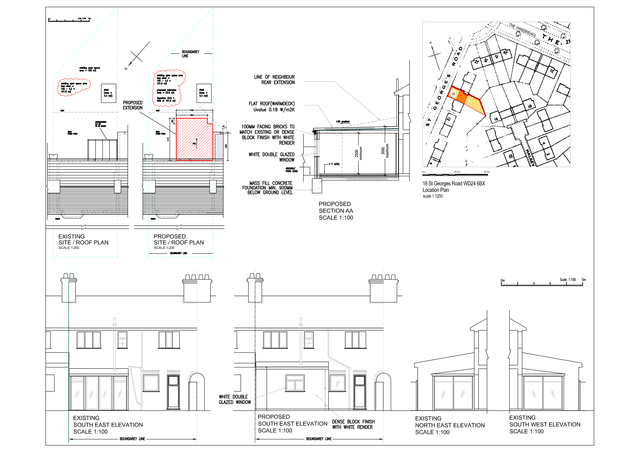 Sample drawings for commercial properties