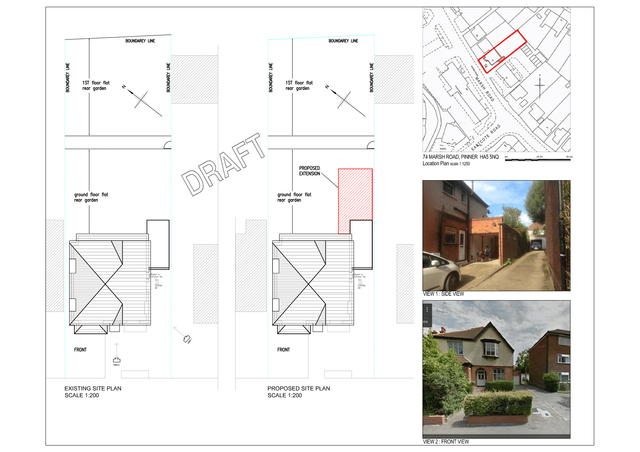 Blue print for domestic properties