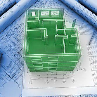 CAD architectural designs