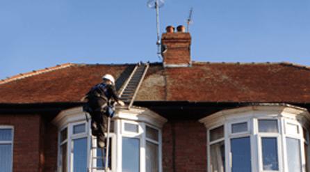 Aerial repair service