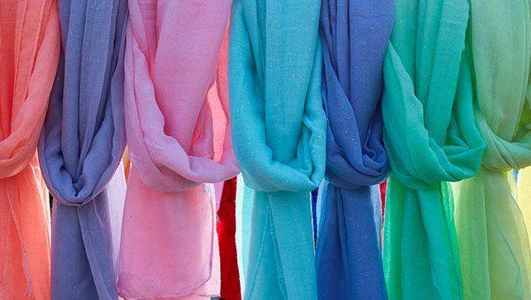 foulard colorati