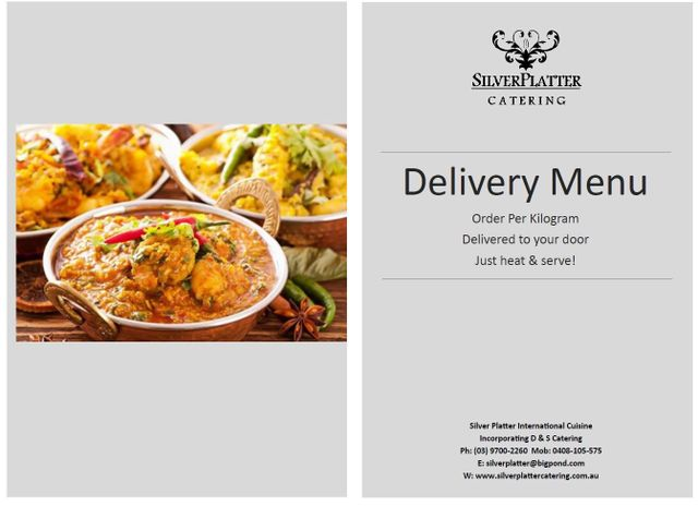 Home delivery catering melbourne vic silver platter catering delicious food forumfinder Images