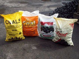 Deliver coal - Burley in Wharfedale, North Yorkshire - Brian Darnbrook - Coal sacks
