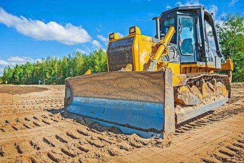 un bulldozer
