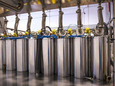 cisterne per la produzione dell'olio d'oliva