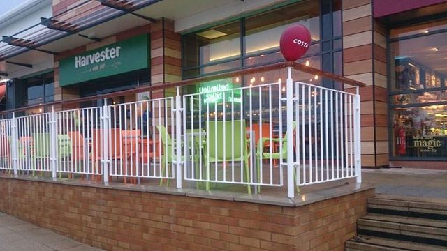 Metal railing design and installation in Monmouthshire